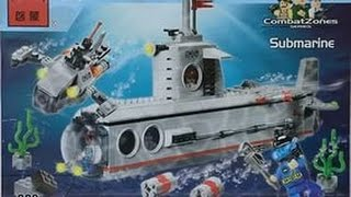конструктор Brick Submarine 816 обзор