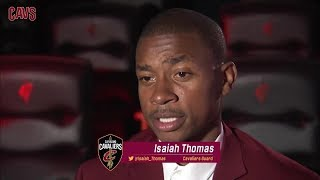 Isaiah Thomas First Interview with Cleveland Cavaliers || NBA || Sep, 7th 2017