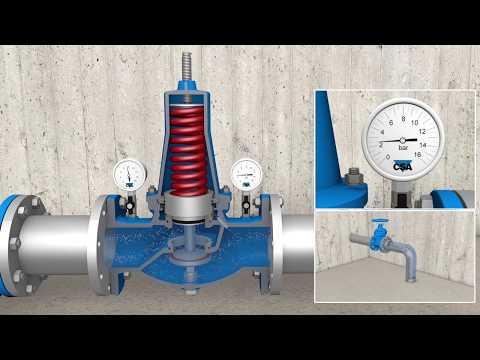 CSA VRCD downstream pressure reducing valve