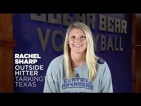 Volleyball: Meet Rachel Sharp