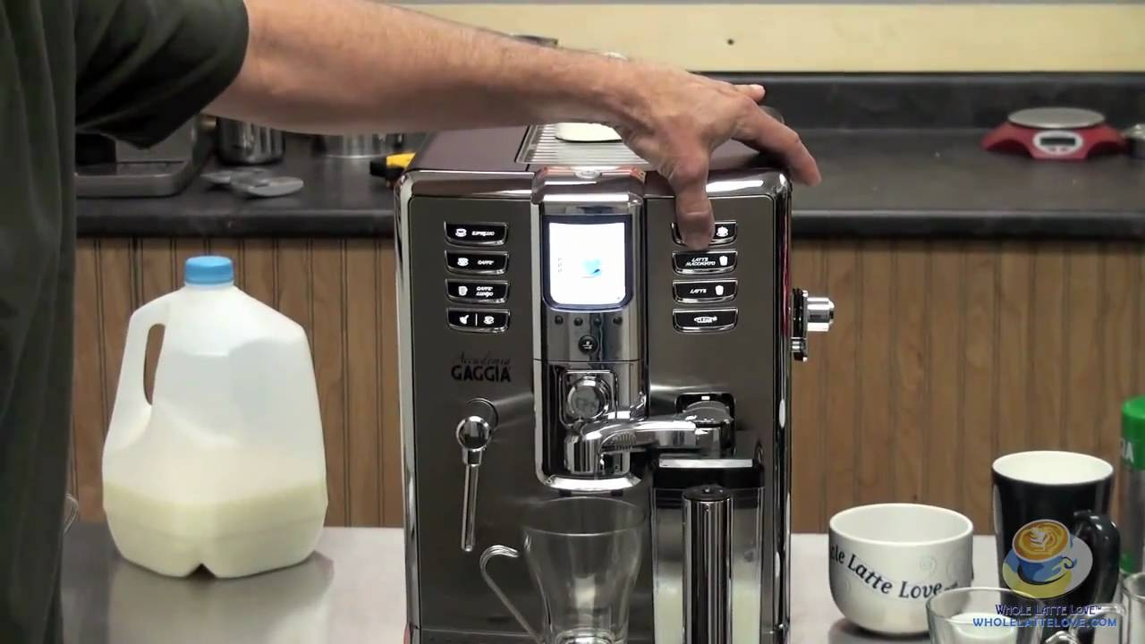Gaggia Accademia: Unboxing And Introduction   YouTube Gallery