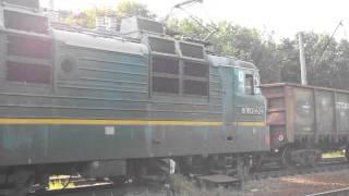 Электровоз ВЛ80т-1424 Днепропетровская область(, 2015-03-01T01:31:15.000Z)