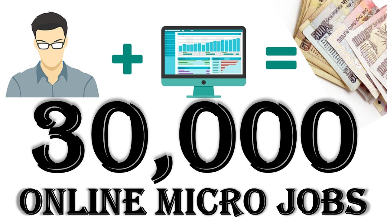 {HINDI} make money online micro jobs earn upto 30000 a day || home based freelance jobs | in india