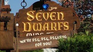 Seven Dwarfs Mine Train Revealed - All Construction Walls Removed - Magic Kingdom - Disney World