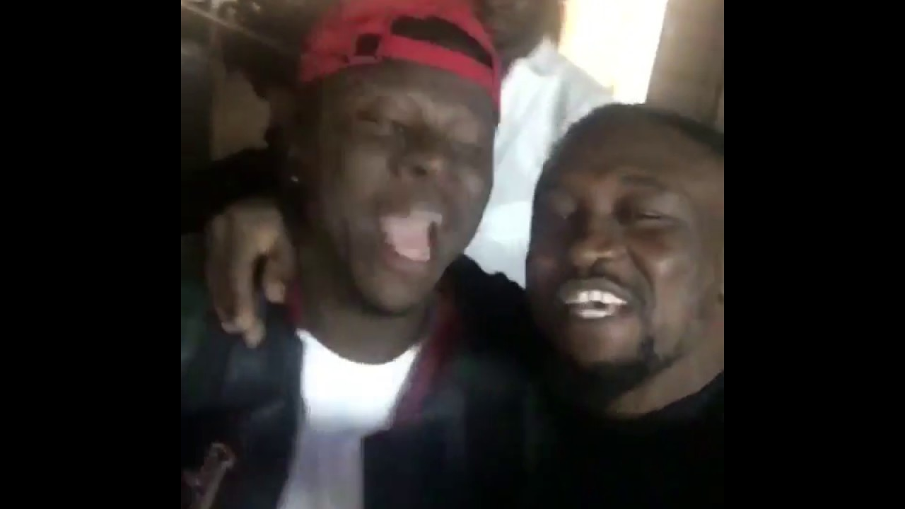 Archipalago and Stonebwoyb having fun in the streets of New York