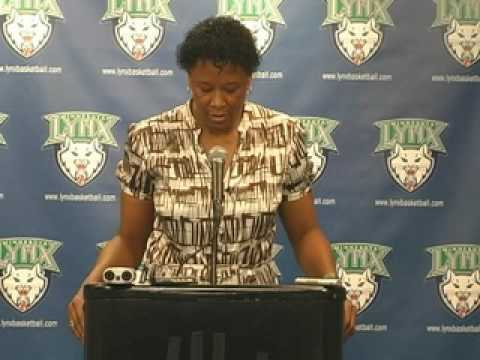 Post Game Audio with Coach Gillom: Minnesota Lynx vs. Atlanta Dream 7-15-09