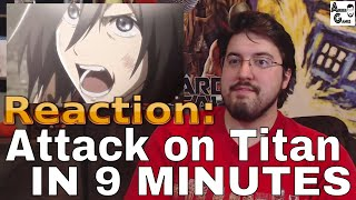 Attack on Titan IN 9 MINUTES: Reaction #AirierReacts