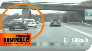 3 Monate Fahrverbot! Dreiste Dränglerin gibt anderen die Schuld! | Achtung Kontrolle | kabel eins