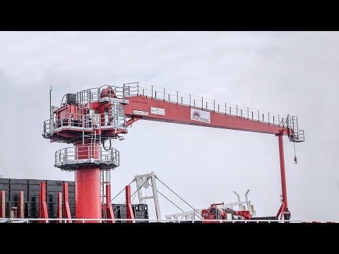 Proteus RAM Luffing Crane