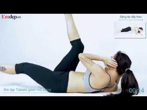 Bài tập Tabata 15 phút giúp giảm mỡ bụng hiệu quả