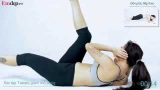 Bài tập Tabata 15 phút giúp giảm mỡ bụng hiệu quả thumbnail