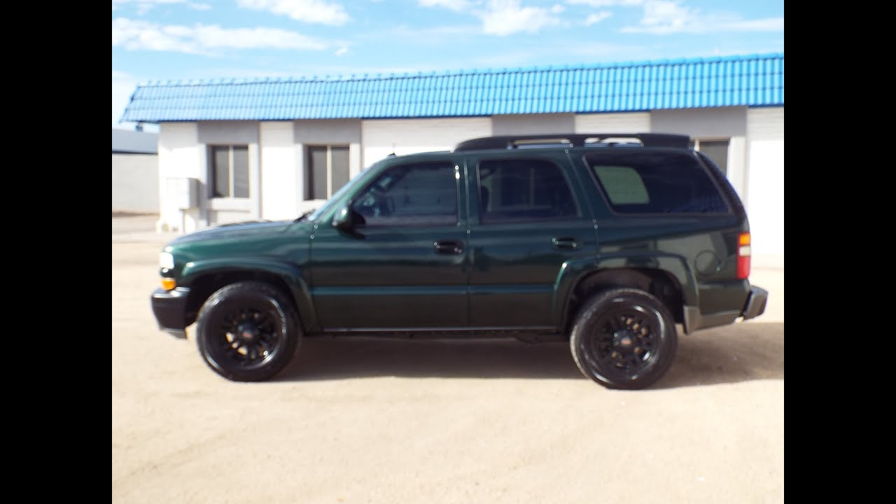 2003 Chevrolet Tahoe Z71 Leather Loaded Pr1486