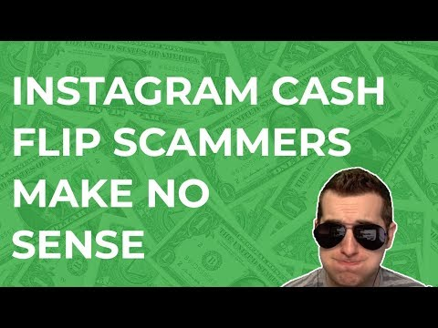 Instagram Cash Flip Scammers Can't Explain Anything