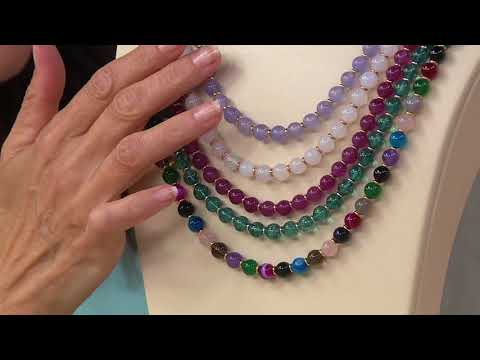 Lola Rose Cherry Beaded Adjustable Necklace On QVC
