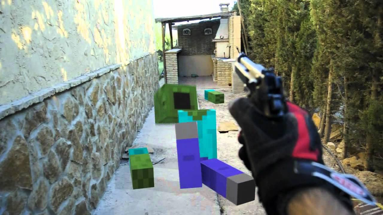 Survival minecraft en la vida real youtube for Videos de minecraft en la vida real