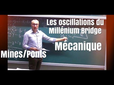 Corrigé Mines-Ponts 2016 physique 1 MP-PSI-PC (1/4) : les oscillations du Millenium Bridge