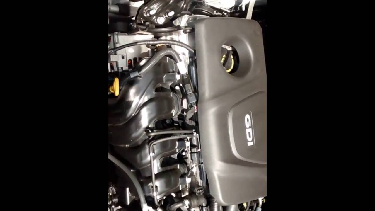 2016 Kia Rio 16L V4 Engine  Normal Running Noises