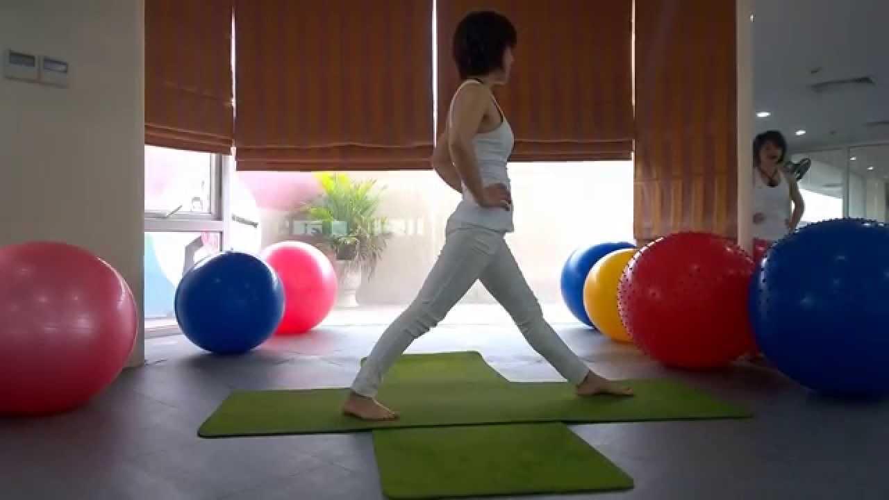 Yoga giảm cân - Bài tập yoga giảm mỡ bụng siêu tốc part 2 (Yoga For Weight Loss)
