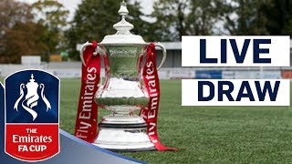 Emirates FA Cup Third Round Draw | Emirates FA Cup 2017/18