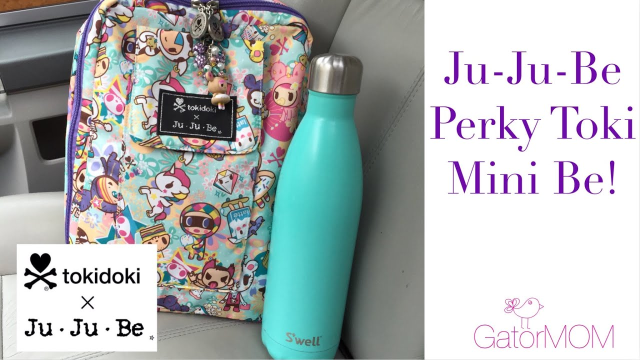 Ju ju be perky toki minibe packed with a mini fuel cell and be set
