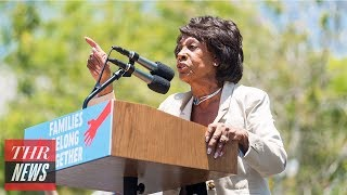 Conservative Artist Sabo Swaps Photo of Michael Meyers & Replaces It With Maxine Water | THR News
