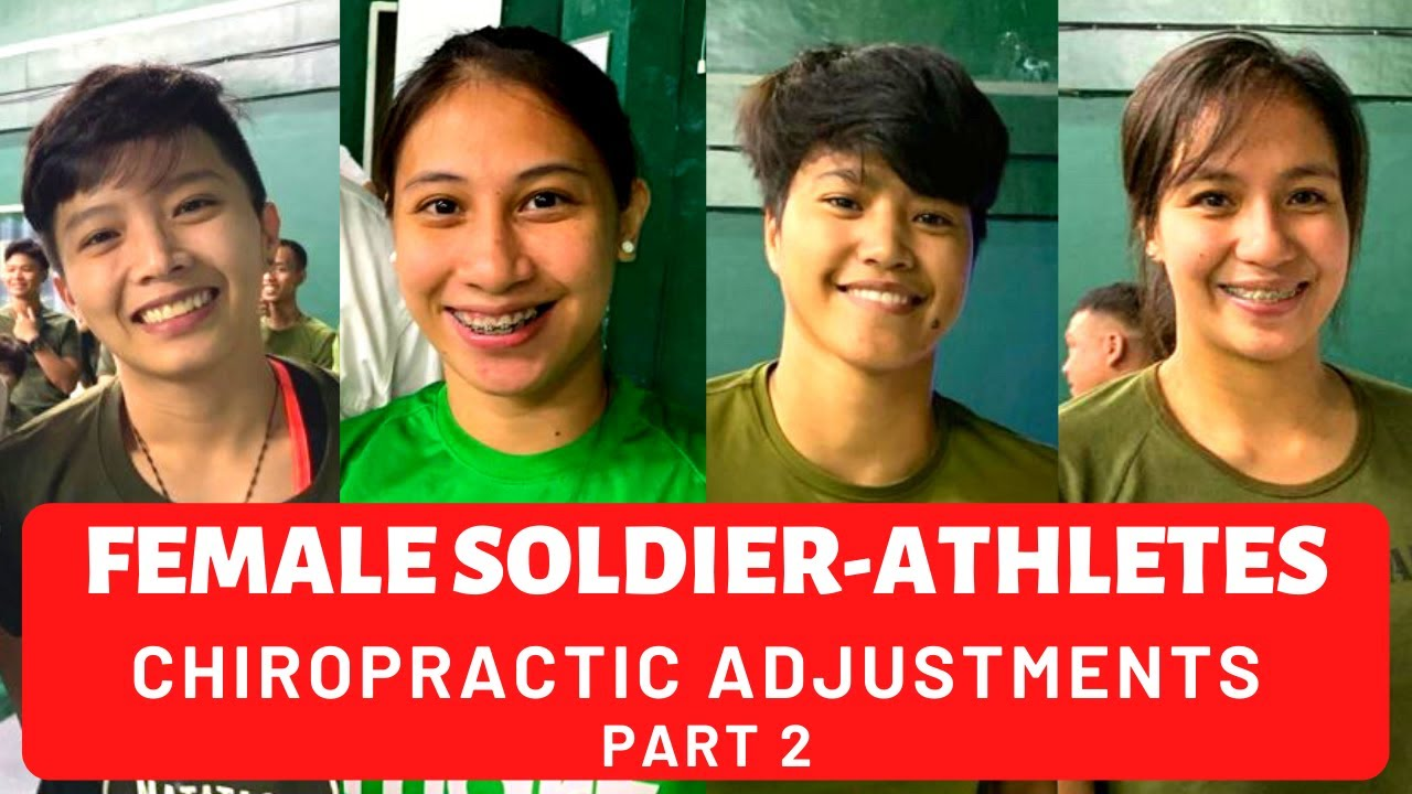 Metro Manila Chiropractor Provided Charitable Chiropractic Care for Female Soldier-Athletes