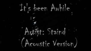 Скачать Aaron Lewis It S Been Awhile Acoustic Version Lyrics