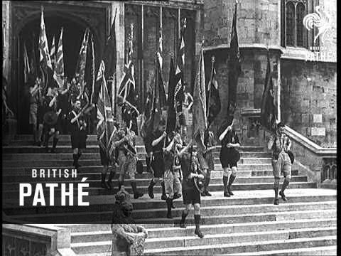 Scouts Salute The King (1935)