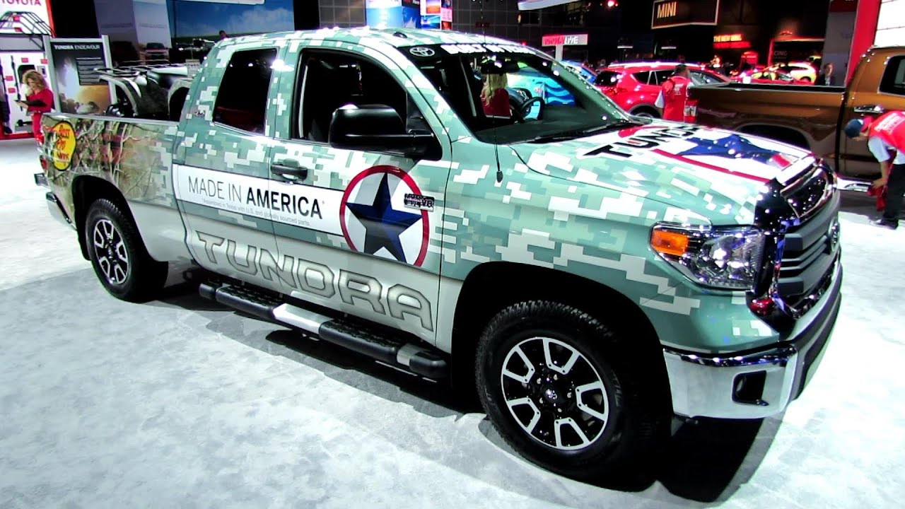 Superb 2014 Toyota Tundra SR5   Made In Texas Wrap   Exterior And Interior  Walkaround   2013 LA Auto Show   YouTube