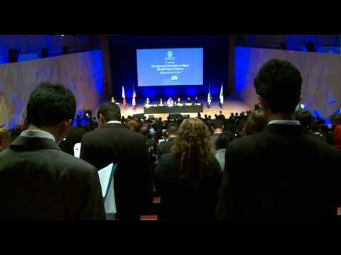 9th Annual Georgetown in Qatar MUN Opening Ceremony