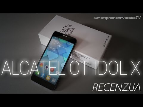Alcatel OT Idol X Video Recenzija