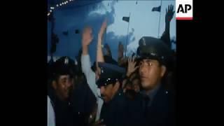 الذكرى الثانية لثورة الفاتح من سبتمبر في ليبيا بحضور الرئيس نميري