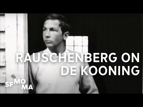 "Robert Rauschenberg on ""Erased de Kooning"""