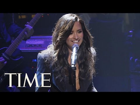 Demi Lovato Sings 'Confident' At The TIME 100 Gala | TIME 100 | TIME