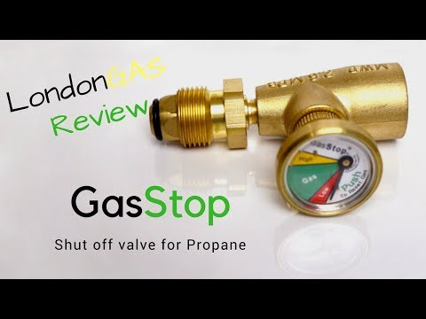 GasStop Review - Shut Off Valve For Propane Cylinders
