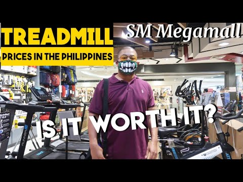 TREADMILL PRICES IN THE PHILIPPINES | I Bought a Treadmill in SM Megamall