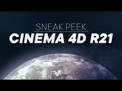Cinema 4D R21 - Sneak Peek