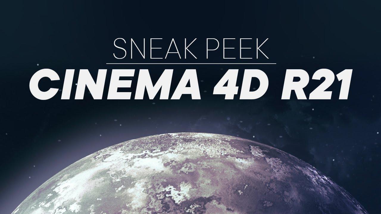 Cinema 4D R21 - New Features | 3DArt