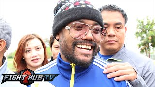 Apl De Ap sings new verison of bebot- Manny Pacquiao entrance song