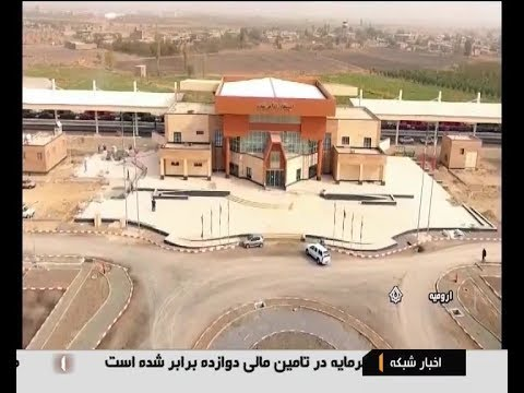 Iran made Maragheh city to Urmia city railway ready for operation راه آهن مراغه به اروميه