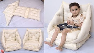 Baby's Sofa Chair DIY | Sofa Making Idea at Home