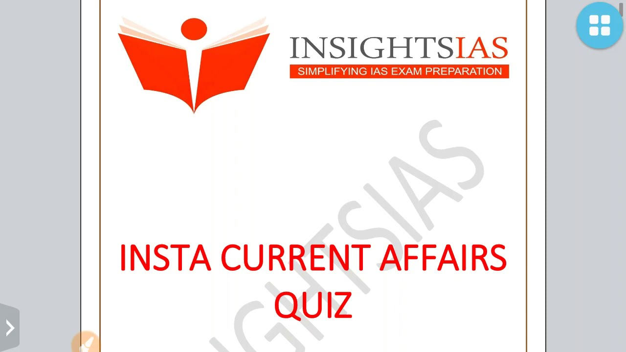 INSIGHTSIAS QUIZ-ENVIRONMENT PART 2 -JULY 2020 :UPSC/STATE_PSC/SSC/RBI