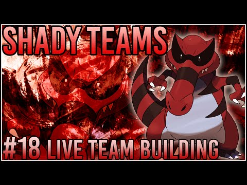 "Shady Teams - Pokemon Omega Ruby/Alpha Sapphire [ORAS] Live Team Building ""Krookodile Bandit!"""