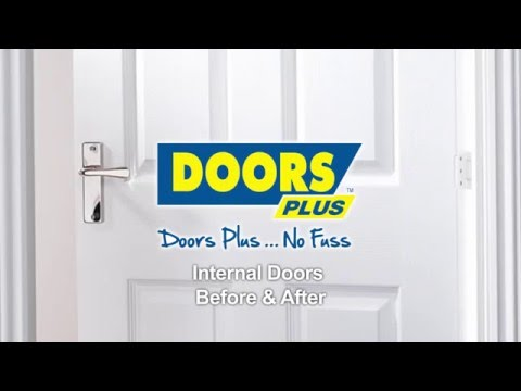sc 1 st  YouTube & Internal Doors | Before \u0026 After Compilation | Doors Plus - YouTube
