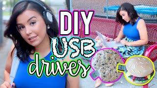 DIY USB Flash Drive! Easy DIY Back To School Supplies!