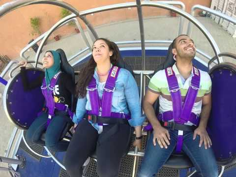 GMAX Reverse Bungy in Mall of Arabia - Cairo - Egypt
