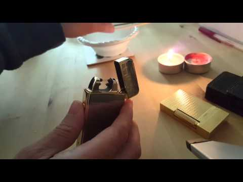 Burning stuff with USB Plasma double arc Lighter