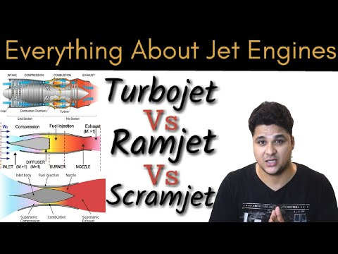 Diffrence Between TurboJet, RamJet And ScramJet, Every Thing About Jet Engines