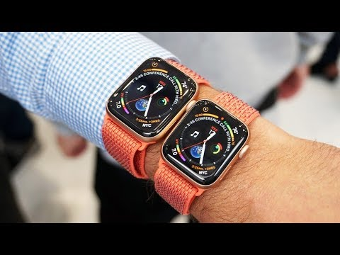 7db9741da نظرة على ساعة أبل Apple Watch Series 4 - YouTube
