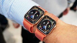 نظرة على ساعة أبل Apple Watch Series 4